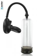 Pompe pénis automatique - XL Sucker - Une pompe a queue automatique qui se déclenche électroniquement : le summum de la technologie pour un développeur de penis. Agrandissez votre sexe sans risque et prenez du plaisir !