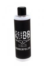 Mister B RUBB Rubber Polish 250 ml - Nettoyant léger 250 ml pour vos articles en latex et caoutchouc. Il rajeunit, lustre et nettoie légèrement vos vêtements, sous vêtements et sextoys en latex et vos produits en caoutchouc. Son pH est neutre et il n'est pas toxique.