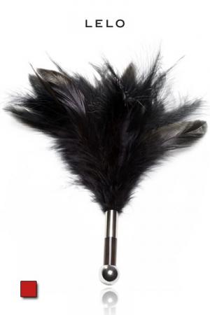 Plumeau Aguicheur Tantra - LELO - Un plumeau en acrylique pour chatouiller, exciter et caresser : jeux sensuels ou jeux SM ?