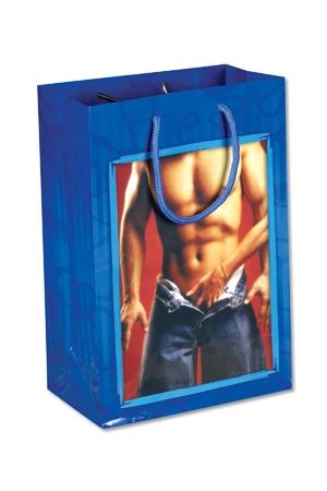 Sac cadeau Chippendale - Un sac cadeau tr�s sexy pour accompagner votre cadeau coquin !
