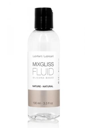 Lubrifiant Anal et Massage Mixgliss au Silicone 100 ml - Lubrifiant anal au silicone, extrêmement glissant qui sert aussi pour les massages. Flacon de 100 ml. Signé Mixgliss