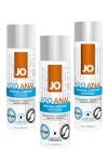 Lubrifiant Jo H2O Anal 60 ml - Lubrifiant anal à base d'eau de 60 ml, le gel lubrifiant Jo H2O anal est compatible avec les sextoys gays et les préservatifs. Sa texture épaisse à la viscosité élevé permet une sodomie profonde. Existe en version chauffante, rafraichissante ou classique.