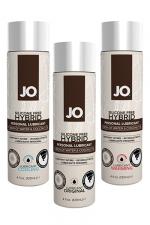 Lubrifiant Jo 120 ml à Base d'Eau et de Coco - Fabriqué à base d'huile de coco et d'eau ce gel lubrifiant de 120 ml est disponible en version classique, chauffante ou refroidissante. Ce lubrifiant est compatible avec tous les sextoys et les préservatifs. Fabriqué aux USA