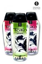 Lubrifiant Toko Aroma - 165 ml - Lubrifiant intime aromatisé, pouvant être léché, à base d'eau, par Shunga, le spécialiste du plaisir intime.
