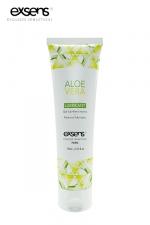 Lubrifiant Exsens à l'Aloe Vera - Gel lubrifiant intime à base d'eau à l'extrait d'Aloe Vera, par Exsens.