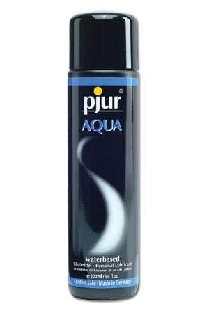 Pjur aqua 100 ml - Pjur Aqua est un lubrifiant corporel appropri� et recommand� pour une utilisation quotidienne. Appr�ciez sa sensation unique.