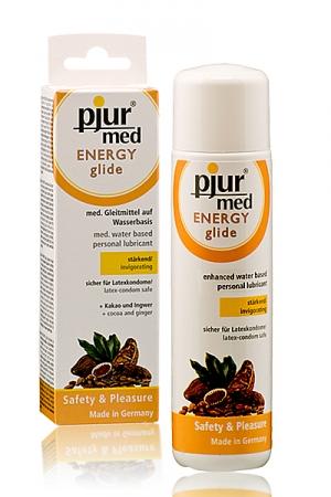 Lubrifiant Pjur Energy glide - Un gel excitant et lubrifiant ! Incroyable ce gel intime homme à base d'eau lubrifie et excite les muqueuses ! Pjur med energy glide un nom à retenir !