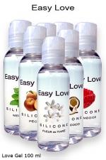 Love Gel parfumé 100 ml - Lubrifiant intime silicone haute qualité  made in France , 7 parfums au choix du bubble gum à la framboise.
