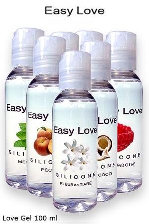 Lubrifiant Silicone Aromatisé et Huile de Massage Sexuel - Un gel lubrifiant silicone aromatisé qui est aussi une huile de massage : 7 parfums différents, fabriqué en France ! Idéal pour les préliminaires puis une pénétration sans douleur & longue durée.