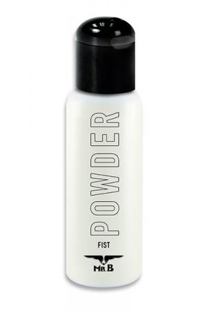 Lubrifiant en Poudre Mister B POWDER - Fabriquez votre propre lubrifiant pour fist à base d'eau avec la poudre Mister B POWDER. Hyper économique, ce flacon permet de fabriquer jusqu'à 2 litres de gel sexuel très glissant. Plus vous ajoutez de poudre, plus ça glisse.
