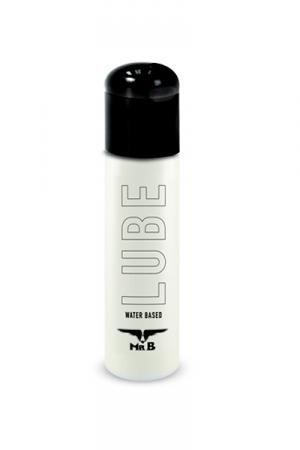 Lubrifiant Intime Mister B Lube 100 ml - Gel lubrifiant anal à base d'eau Mister B Lube 100 ml. Doux et non collant, ce lubrifiant intime premium à petit prix est compatible avec les capotes, les sextoys et se conserve pendant 4 ans après achat !