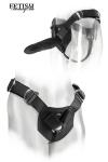 Harnais Porte Gode Fetish Fantasy Universal Heavy-Duty - Ce harnais est parfait pour attacher un gode ceinture et sodomiser votre partenaire. Il s'adapte à tous les sextoys du marché.
