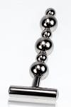 Plug m�tal Thruster - Un sextoy tout en m�tal pour une utilisation anale ou vaginale.