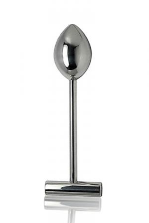Pod plunger - Godemiché en métal lourd haute qualité pour des explorations anales profondes
