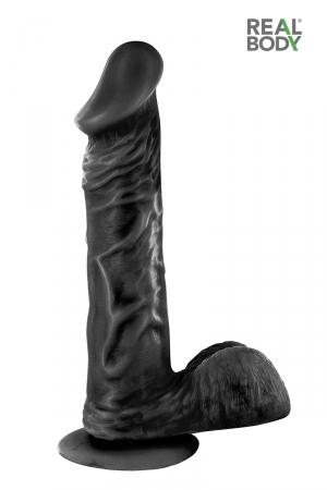 Gode Black Gay Réaliste 21 cm Real Jayson