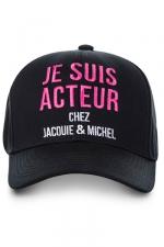 Casquette Jacquie et Michel Acteur : La casquette J&M Acteur, la casquette ultime pour faire fantasmer les filles !
