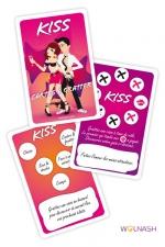 Cartes à gratter Kiss : 6 cartes à gratter pour pimenter vos jeux amoureux.