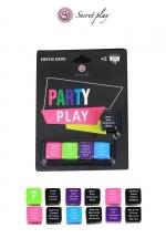 Jeu Erotique Gay 5 Dés Party Play : Jeu érotique gay avec 5 dés pour jouer à partir de deux joueurs. Pas de limite de participants. Parfait pour des préliminaires entre hommes, débutez une partouze gay. Multilingue français, anglais, espagnol, portugais.