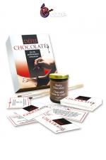 Préliminaires Erotiques Défis Chocolatés : Préliminaires gays coquins avec du chocolat ! Ce jeu vous propose 30 défis sexy à réaliser à deux pour faire monter vos envies sexuelles.