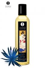 Huile de Massage Homme Erotique Shunga Fleur de Minuit - Huile de massage masculine Shunga Fleur de Minuit, cette huile pour homme multiplie la réceptivité de vos sens pour de meilleurs préliminaires ! Fabriquée à base d'huiles naturelles, pressées à froid