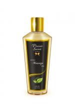 Huile de Massage Sèche Sans Parfum - Huile de massage sèche d'origine végétale sans parfum Fabriquée en France, cette huile rend la peau belle, douce et hydratée. En avant pour le plus apaisant ou le plus excitant des massages !