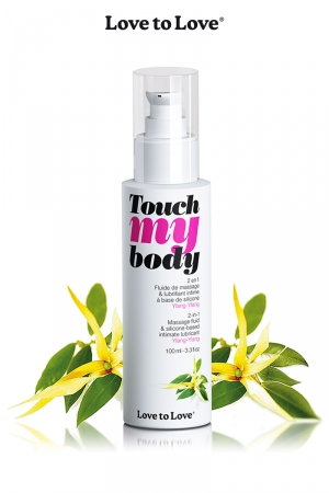 Fluide Massage et Lubrifiant au Ylang-Ylang Love to Love Touch my Body