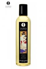 Huile de massage érotique Shunga - Huile de massage érotique comestible à base d'huiles naturelles. Elle possède 4 parfums : rose, orange, lavande ou pomme. Testée dermatologiquement cette huile Shunga vous assure le plus torride des massages !