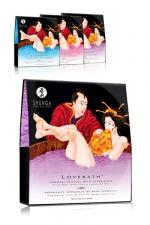 Gelée de Bain Shunga Lovebath - Expérience unique et sensuelle, les sels de bains Shunga Lovebath pour sissy se transforment en milliers de perles d'une gelée riche, douce, parfumée qui éveille vos sens. Elle hydrate la peau, l'adoucit et la féminise.