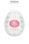 Tenga Egg Stepper - Tenga lance le Tenga Egg Stepper, un masturbateur pour homme avec des nervures bi directionnelles, arrondies vers le haut et le bas. Pour une stimulation permanente de votre pénis !