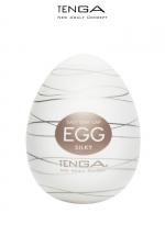 Masturbateur Tenga Egg Silky : Le Masturbateur Tenga Egg Silky vous propose un masturbateur homme en élastomère tout en douceur pour jouir de plaisir !