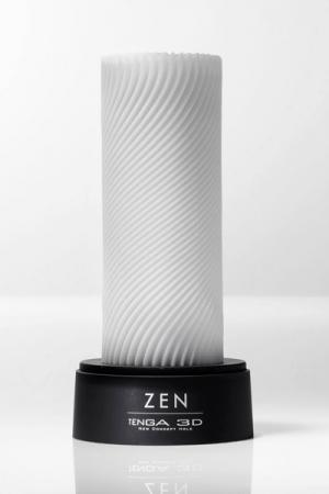 Tenga 3D Zen - Le masturbateur Tenga 3D de nouvelle génération avec une texture douce, à la fois stimulante et apaisante.
