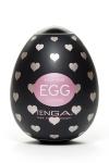 Tenga Egg Lovers - Lovers Egg, le masturbateur Tenga avec des reliefs en forme de coeur. Facile d'usage, ouvrez l'oeuf, etirez le sur votre sexe en érection : le plaisir n'attend que vous ! La texture de ce masturbateur est transparente et facilite le contact ! C'est chaud !