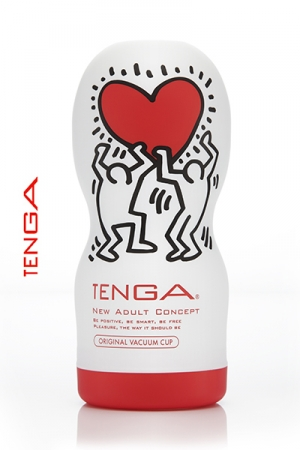 Tenga original Vacuum - Keith Haring - La nouvelle version de l'incontournable masturbateur Tenga Deep Throat, le sp�cialiste de la fellation.