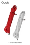 Corde de Bondage Gay 10 Mètres, 16 Brins - Pour vos séances de shibari, une corde de bondage gay de 10 mètres de long et 16 brins, 8 mm d'épaisseur en nylon. Attacher le soumis, le suspendre, l'immobiliser et en faire ce que vous voulez !