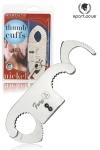 Menottes de pouces Spartacus - Menottes de pouces en acier haute qualité conçues par Spartacus. Attachez lui ses pouces et handicapez le quand il se sert de ses mains. Système de double verrouillage, 2 clefs fournies.