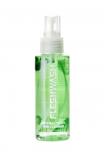 Nettoyant désinfectant Fleshwash (118 ml) : Spray anti-bactérien spécialement conçu pour les sextoys Fleshlight.