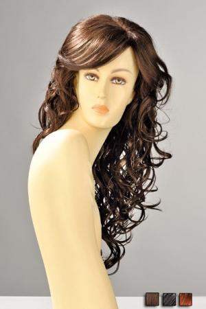 Perruque Cheveux Longs et Ondulés Dareen - Perruque longue aux cheveux ondulés de boucles sensuelles qui se répandent sur la poitrine.