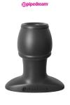 Plug Creux 6,1 x 3,7 cm Pipedream - Plug anal tunnel de 6,1 x 3,7 cm pour transformer votre cul en tunnel, y insérer des objets, des liquides ou espionner votre intimité. Ce plug creux pour débutant vous ouvre de nouveaux jeux sexuels. Fabriqué en silicone haut de gamme.