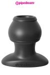 Plug Creux 6,1 x 5 cm Pipedream - Plug creux de 5 cm de diamètre pour 6,1 cm de long. Court mais efficace, ce plug anal creux est fabriqué en silicone haut de gamme, ferme mais souple et très doux. Port possible pendant des heures.