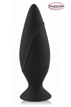 Plug Anal 12 cm Malesation Butt Plug Large - Gros plug anal 12 x 4,1 cm de chez Malesation. Tout en silicone, ce sextoy sans phtalate est résistant, facile à nettoyer, antiallergénique et parfait pour votre plaisir anal !