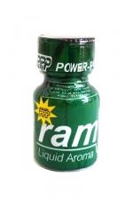 Poppers Ram 9 ml - Ram est un poppers mondialement connu à base d'isopropyle nitrite. Son flacon vert existe depuis les années 90 et déclenche des torrents de sexe !