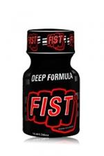 Poppers Fist 10 ml - Un poppers au nitrite de pentyle pour les amateurs de fist et de sensations fortes : l'isopentyle nitrite permet une dilatation extrême des muscles de l'anus