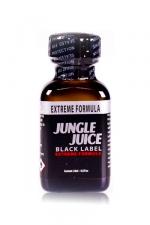 Poppers Jungle Juice Black Label Amyle 24 ml - A base de nitrite d'amyle, le poppers jungle juice black label est idéale pour les bonnes chiennes et les passifs très lopes. La formule extra forte de ce poppers vous transforme en garage à bite à l'anus dilaté et insatiable.