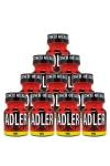 Pack 10 Poppers Adler 9 ml - 10 Flacons de 9 ml de Poppers Adler à petit prix promo, à base de nitrite de pentyle, ce poppers est le plus fort et puissant du marché.