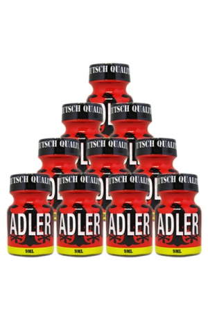 Pack 10 Poppers Adler 9 ml