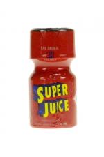 Poppers Super Juice 10 ml - Poppers en flacon petit format,bouchon sécurisé, contenant un arôme liquide érotique puissant et longue durée à base d'Amyle.