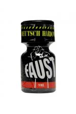 Poppers Faust 9 ml - Faust, un poppers à base de Nitrite de Pentyle dans un flacon de 9 ml. Respirez son odeur et décollez immédiatement. Faust signifie Fist en allemand : votre anus sera ultra dilaté !