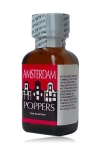 Poppers Amsterdam 24 ml - Amsterdam, un poppers puissant qui vous fait rejoindre le Red Light District sans passer par les musées. A base de Nitrite d'isopropyle, il est aphrodisiaque et éveille votre sexualité à de nouveaux sommets.