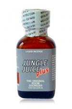 Poppers Jungle Juice Plus 24 ml - Le poppers Jungle Juice Plus dans son flacon de 24 ml est une nouvelle version du Jungle Juice. Il décontracte vos muscles, possède des vertus aphrodisiaques, la soirée va être chaude !