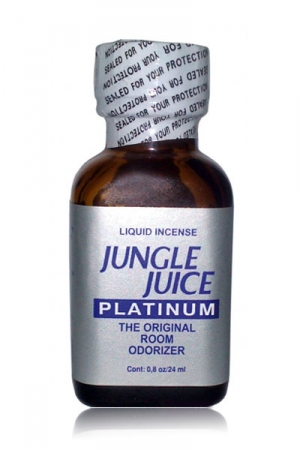Poppers Jungle Juice Platinum 24 ml - Faites monter l'ambiance avec cet Ar�me aphrodisiaque haute qualit� � base de Nitrite d'Isotropyle.
